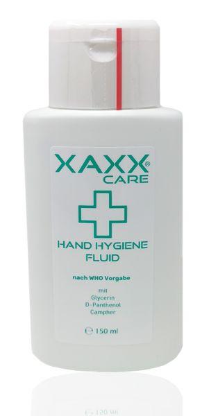 Hand Hygiene-Fluid mit Glycerin, Panthenol & Campher - nach WHO-Vorgabe, 150ml