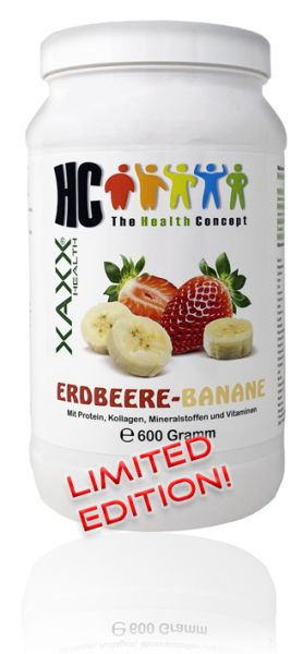 HC BODY CONTROL SHAKE ERDBEERE-BANANE 600g 20 Mahlzeiten
